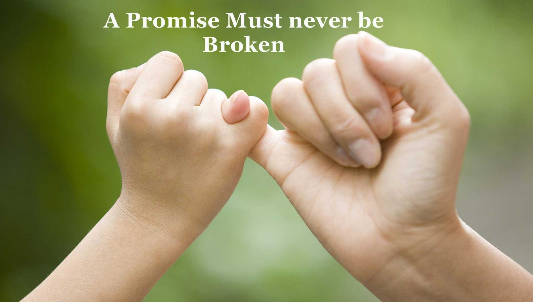 Happy Promise Day A promise must never latest image for your valentine