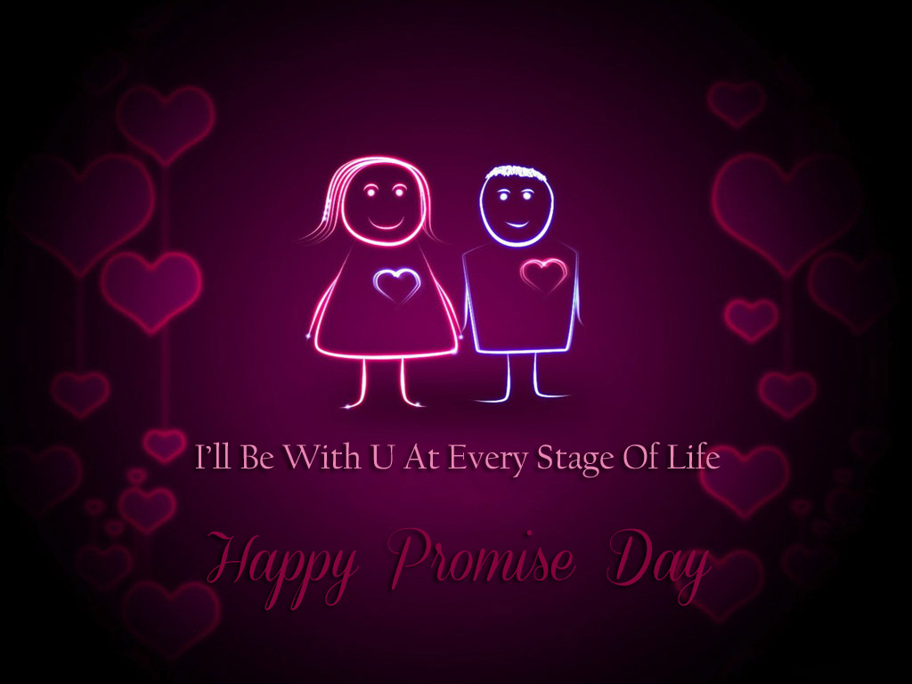 Happy Promise Day I 'll with u at lovely new images for perfect love