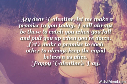 Happy Promise Day My dear valentine best messages for your best valentine 2019