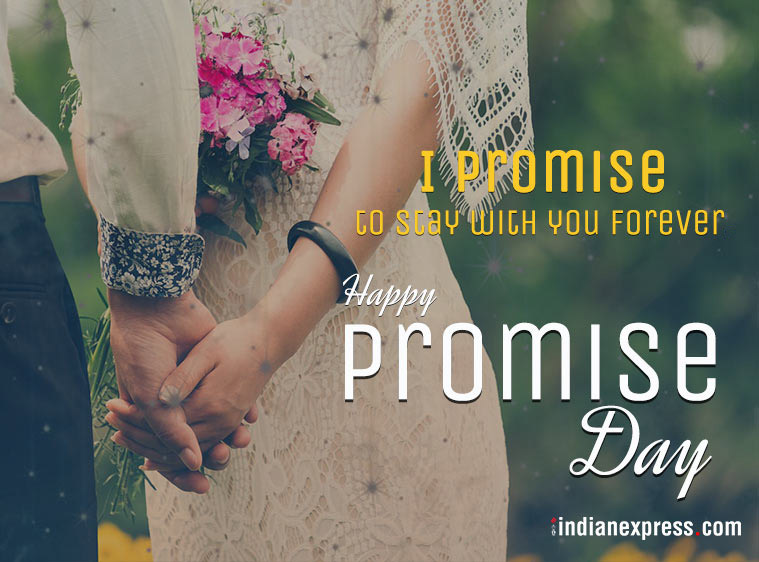 Happy Promise Day beautiful wishes image to your lover
