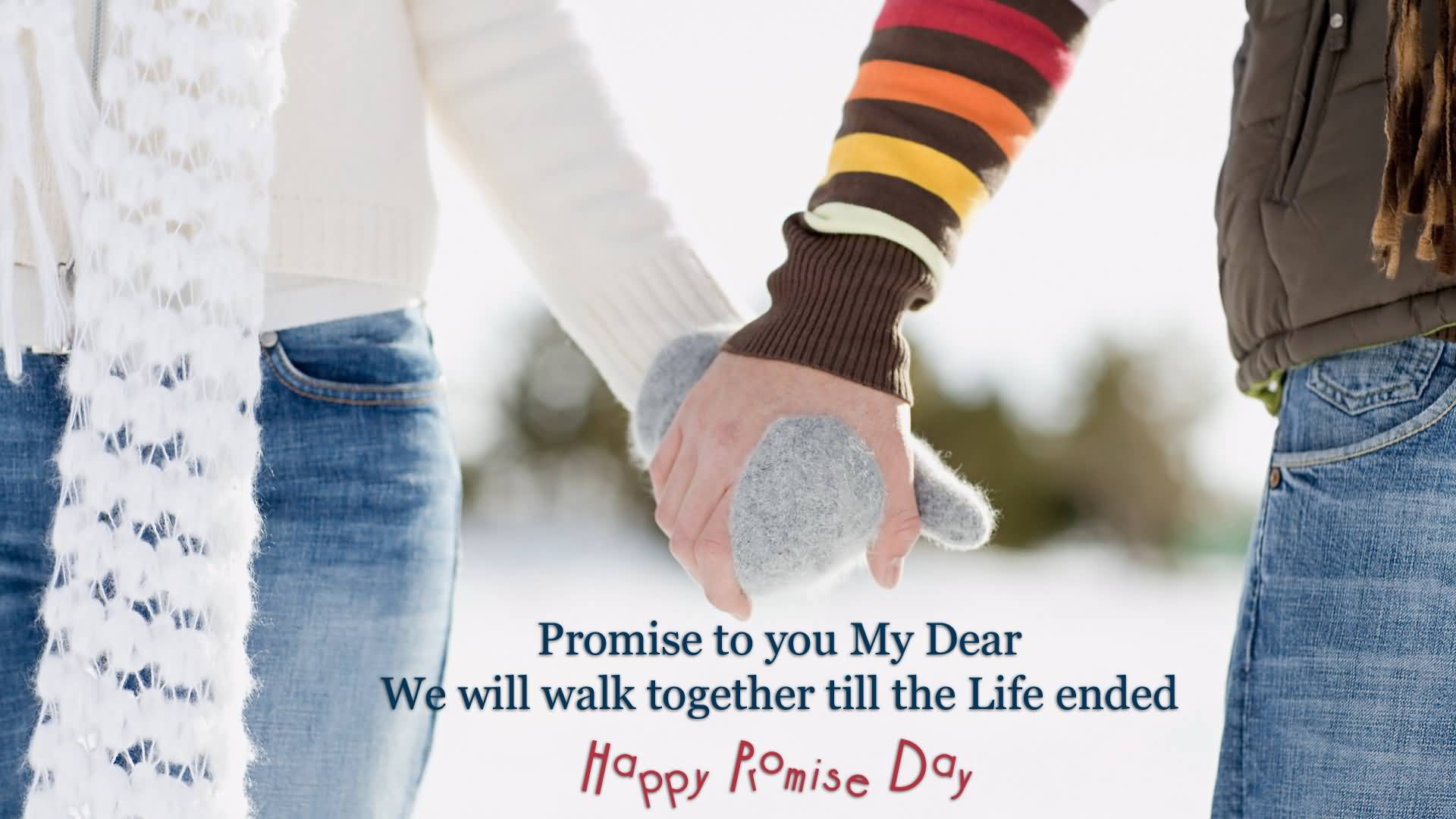 Happy Promise Day perfect quote for lovely love
