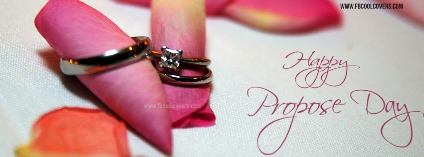 Happy Propose day best greeting with rings for your lover