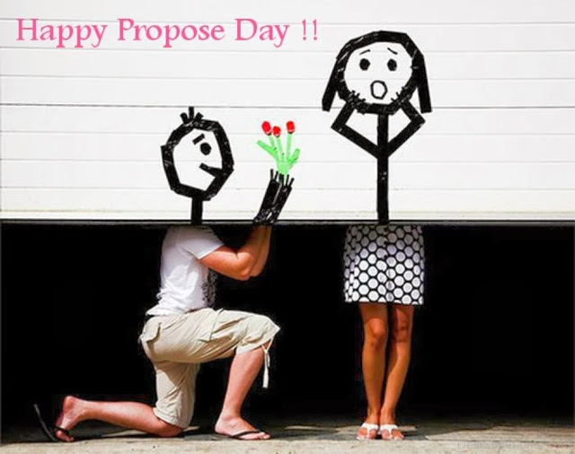 Happy Propose day cute proposal images to you dear love