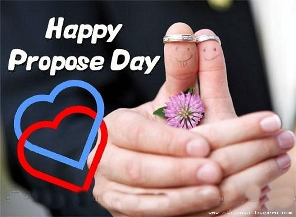Happy Propose day cute wish image for cute girlfriend from your love boyfriend