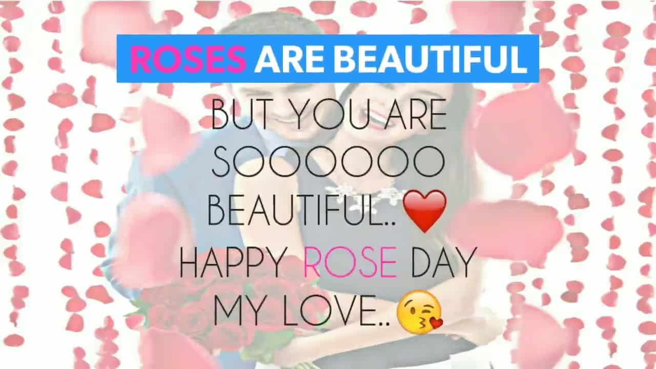 Happy Rose day beautiful image with full of love to sent your lover