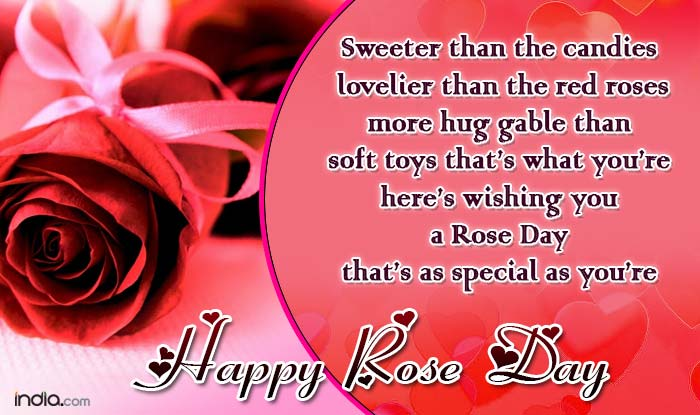 Happy Rose day great greetings for dear love of life with blessings