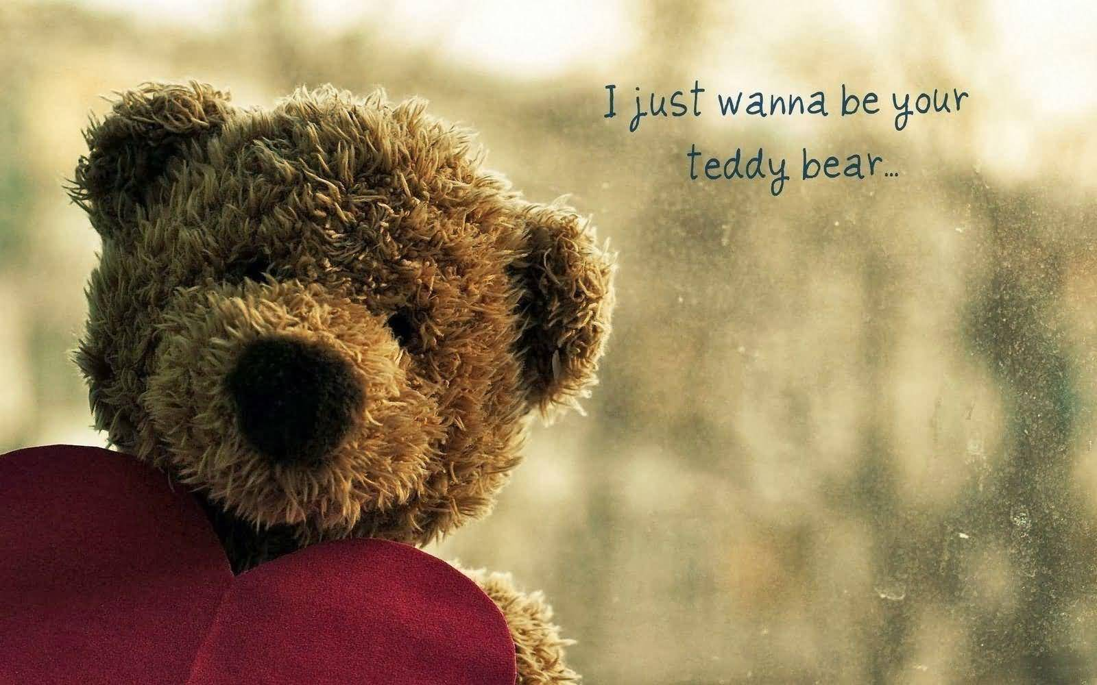 Happy Teddy Day I just wanna be your perfect wishing for your lovely girlfriend