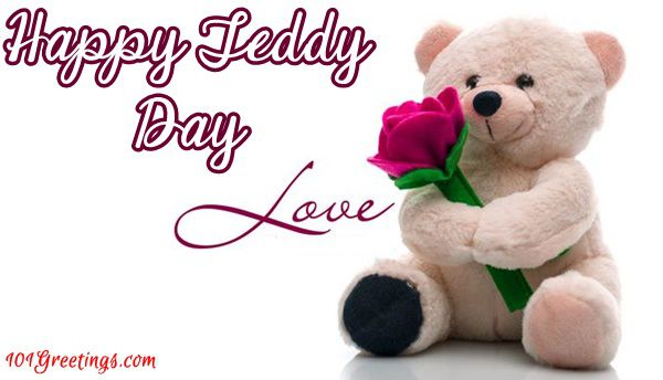 Happy Teddy Day fabulous greetings for your love