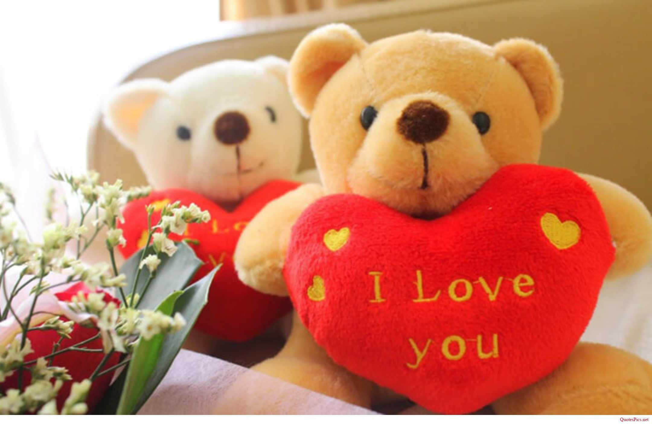 Happy Teddy Day romantic I love you images for your sexy love