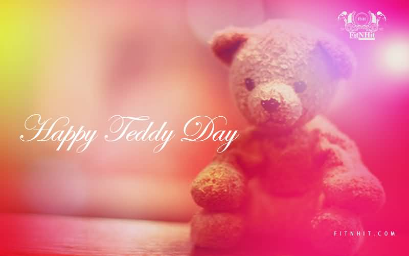 Happy Teddy Day stylish greetings for dear love from hubby