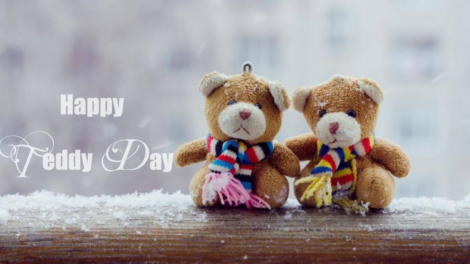 Happy Teddy Day wonderful wallpaper wishes for your love of your life