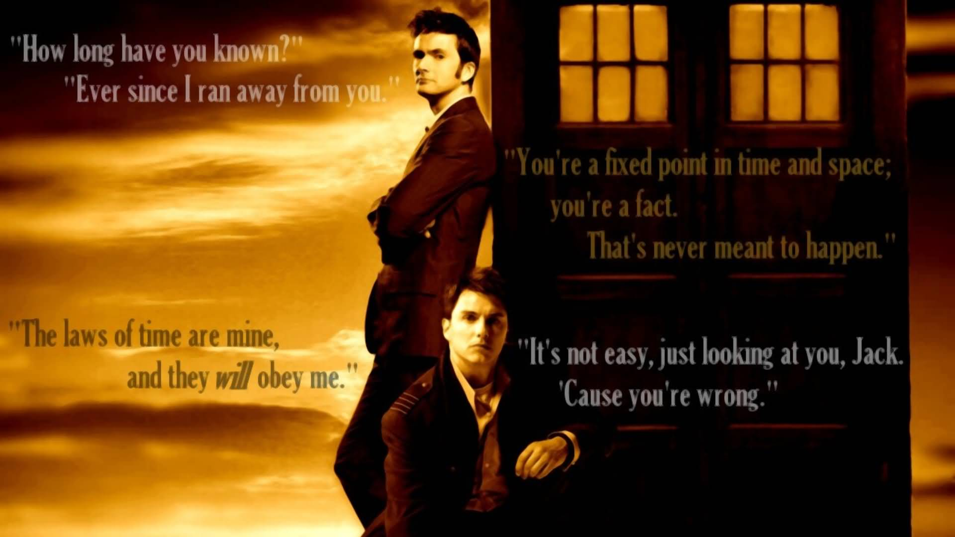 How Long Have You Doctor Who TV Show Quotes