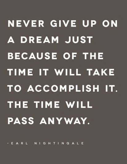 Never Give Up On A Dream Dream Quotes