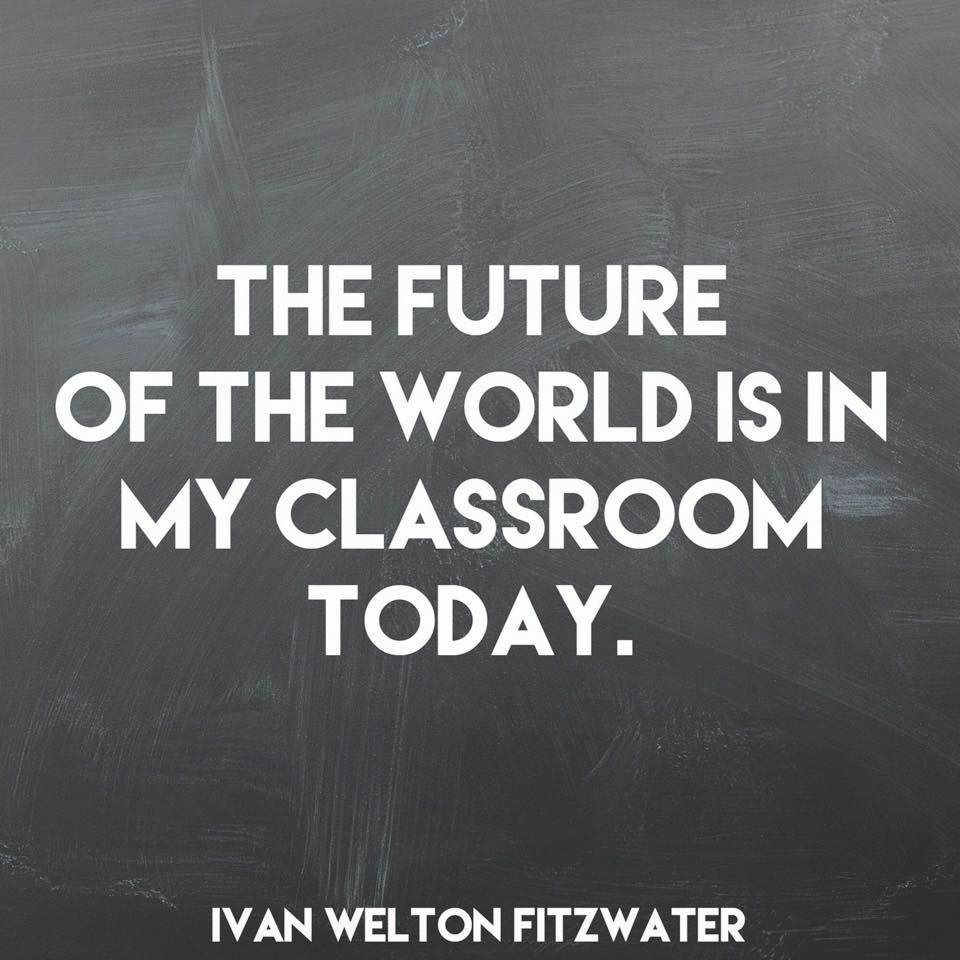 The Future Of The World Education Quotes