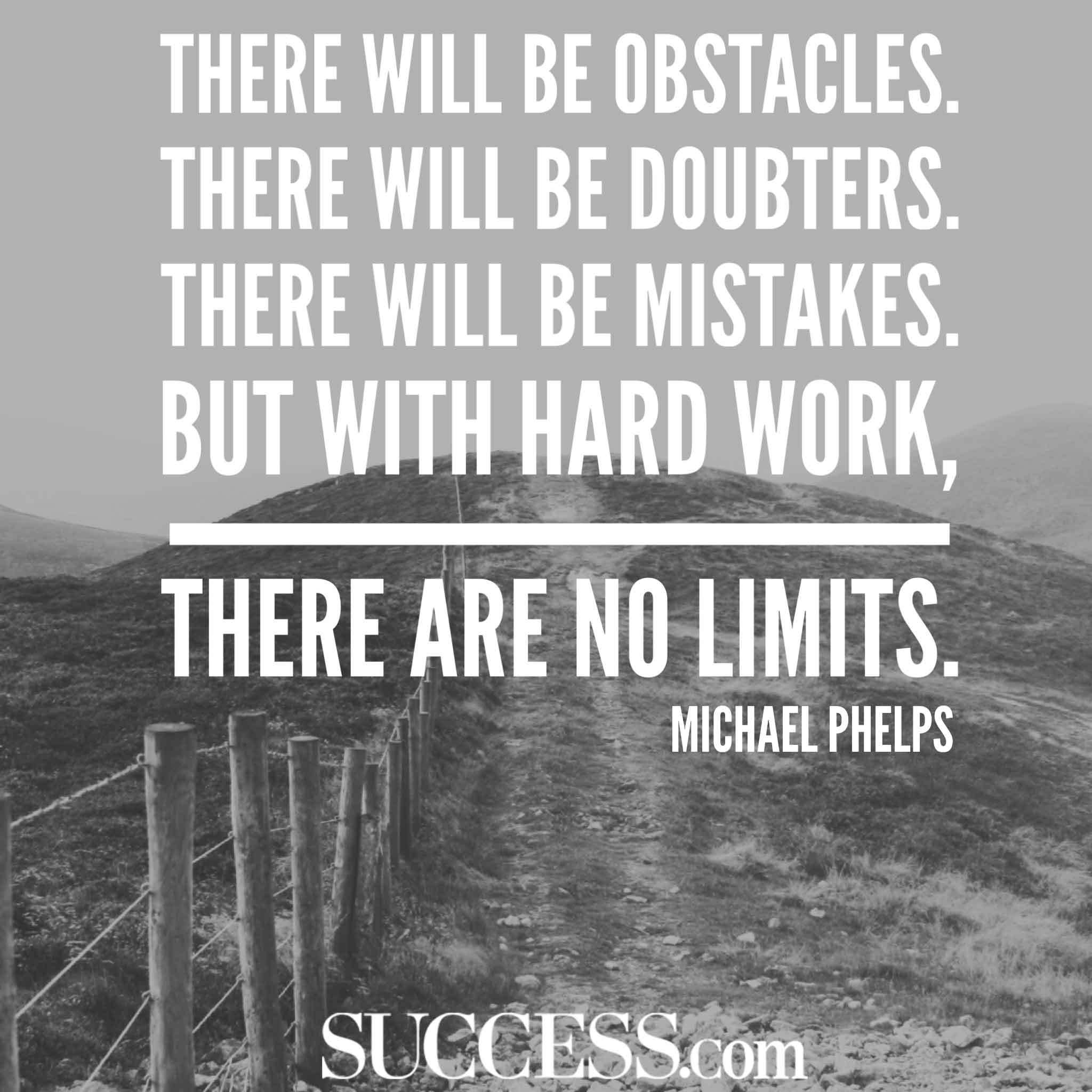 There Will Be Obstacles Dream Quotes
