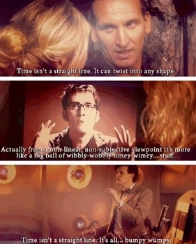 Time Isn't A Straight Line Doctor Who TV Show Quotes