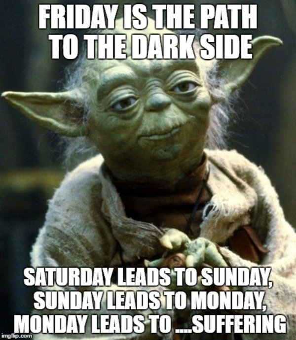 Friday Is The Path Friday Meme