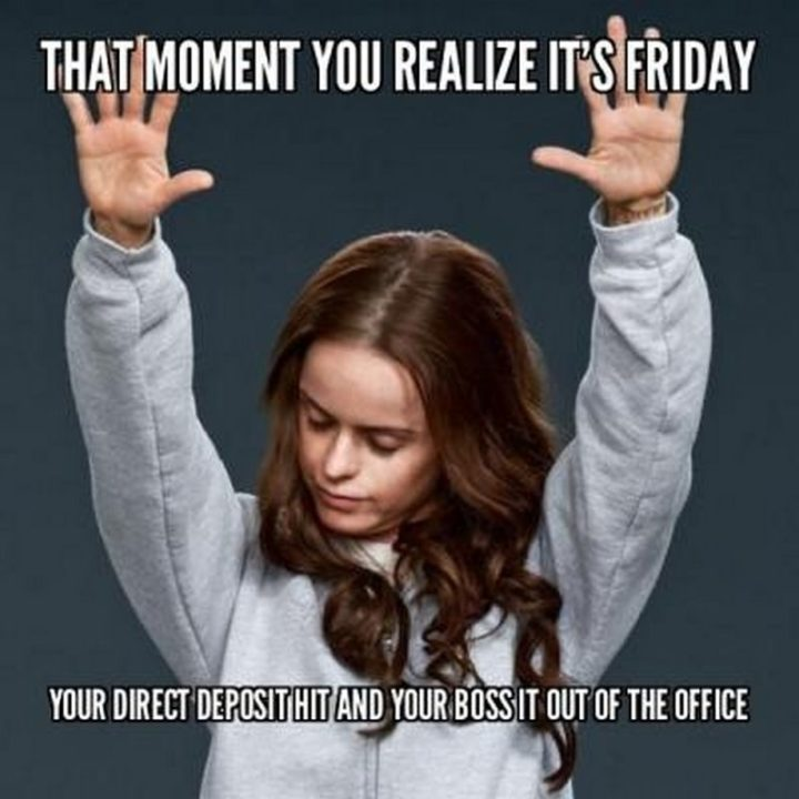 Friday Meme That Moment You Realize