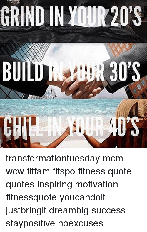 Grind In Your 20's Wcw Quotes