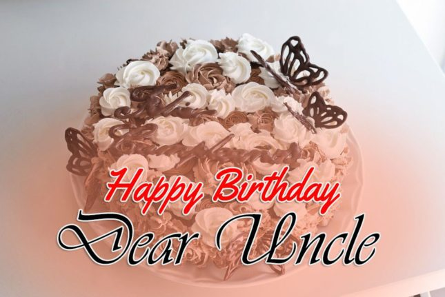 Happy Birthday Dear Uncle beautiful wallpaper wishes images