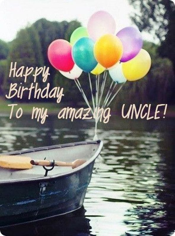 Happy Birthday to my amazing Uncle beautiful message wishes