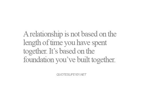 Mcm Quotes A Relationship Is Not Based