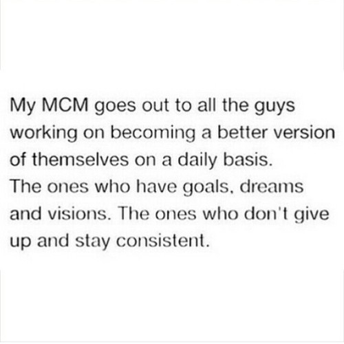 My MCM Goes Out Mcm Quotes