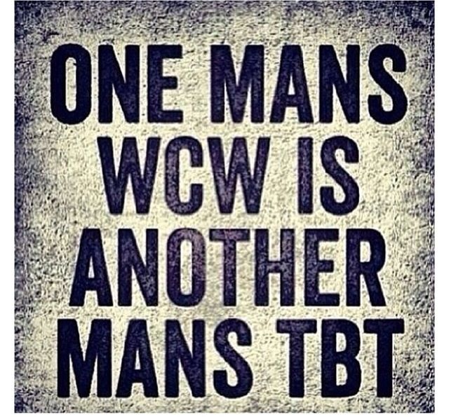 One Mans Wcw Is Wcw Quotes
