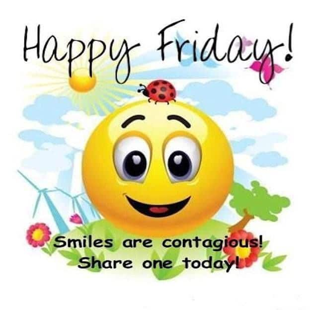 Smiles Are Contagious Share Friday Quotes