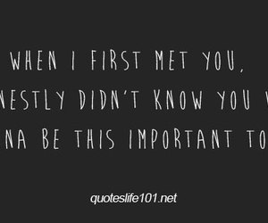 When I First Met You Mcm Quotes