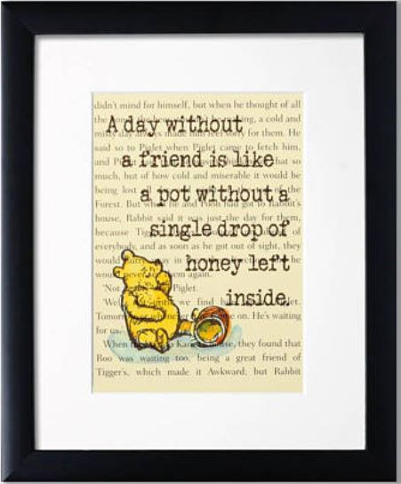 A Day Without A Friend Winnie The Pooh Quotes