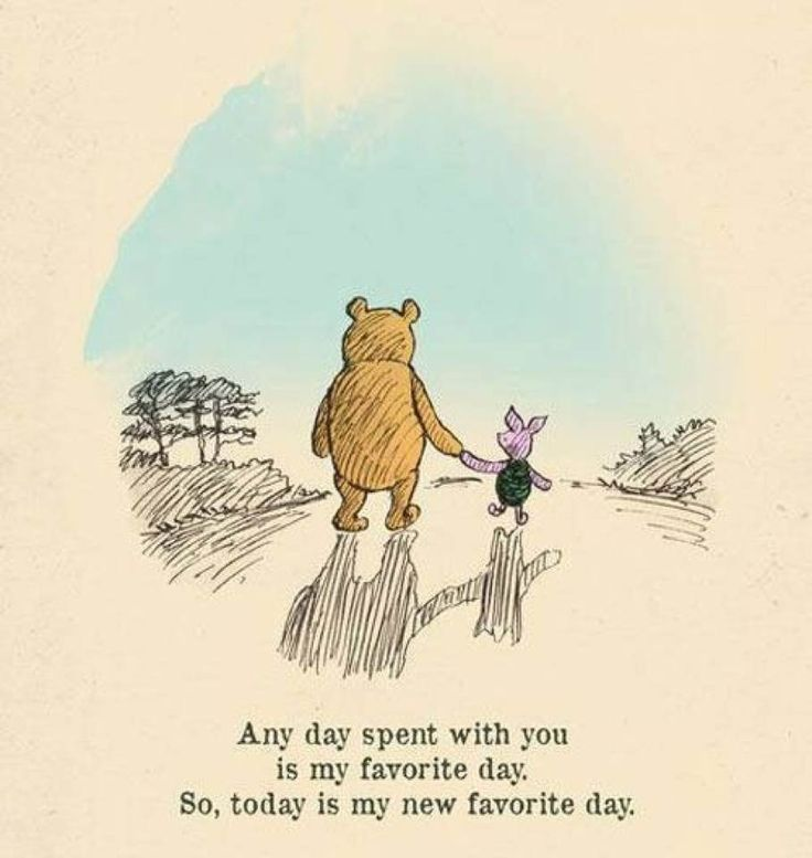 Any Day Spent With You Winnie The Pooh Quotes