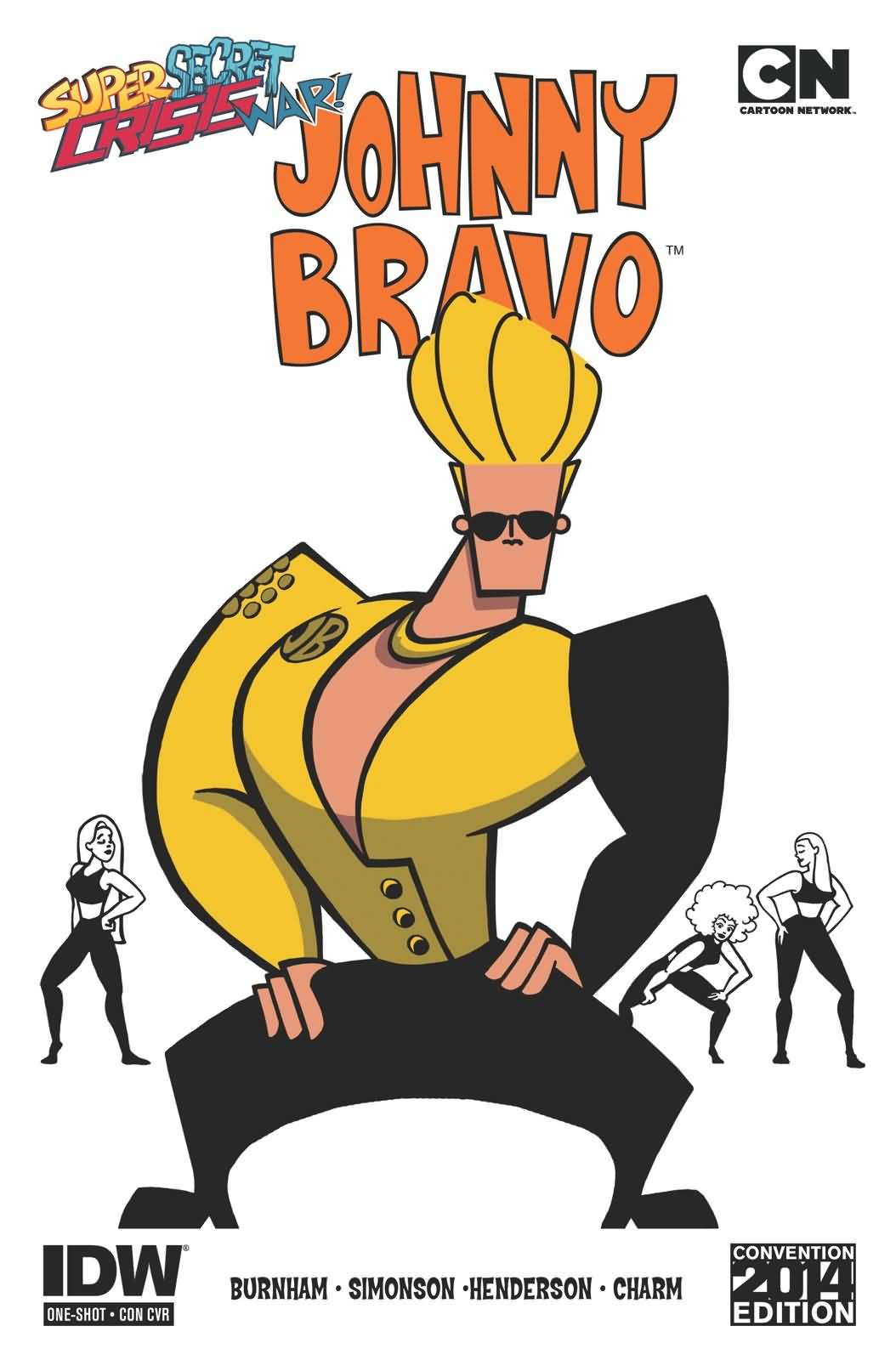 Cool Johnny Bravo Costume