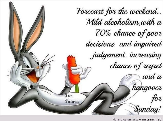 Forecast For The Weekend Bugs Bunny Quotes
