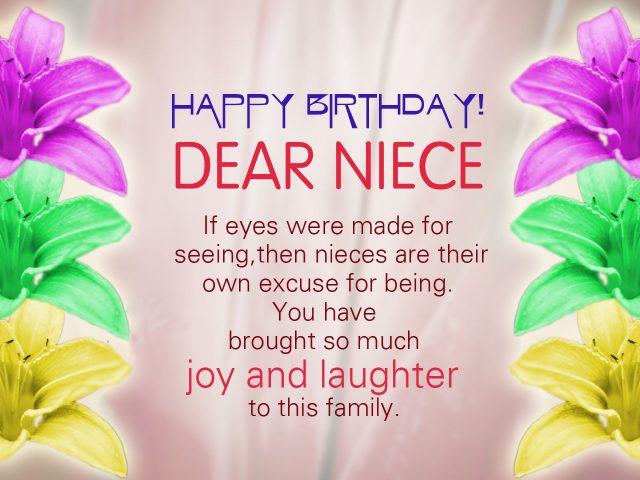 Happy Birthday Dear Niece Happy Birthday Niece