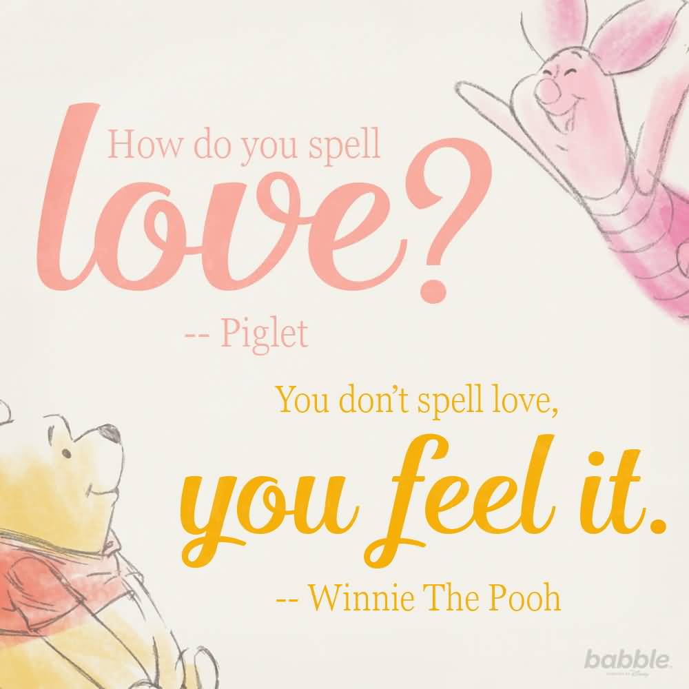 How Do You Spell Winnie The Pooh Quotes