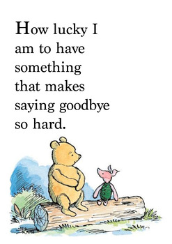 How Lucky I Am To Winnie The Pooh Quotes