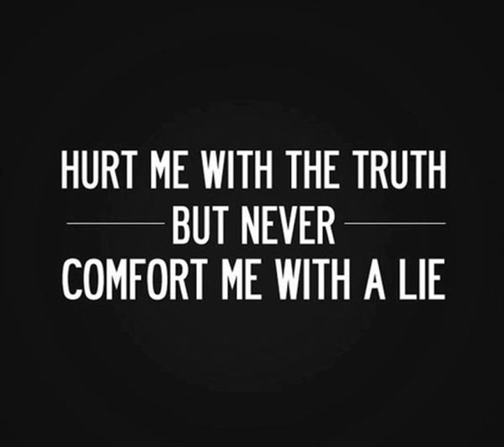 Hurt Me With The Truth Emotional Quotes