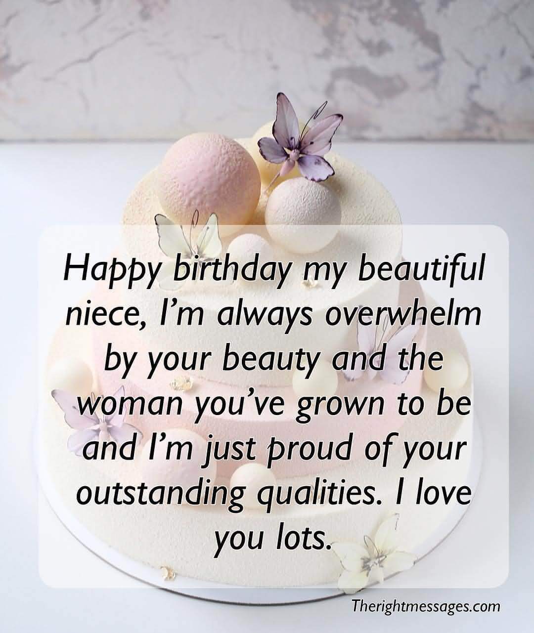 I Love You Lots Happy Birthday Niece