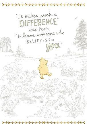 It Makes Such A Difference Winnie The Pooh Quotes