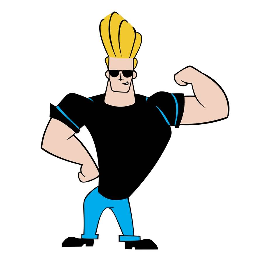 Johnny Bravo Biceps