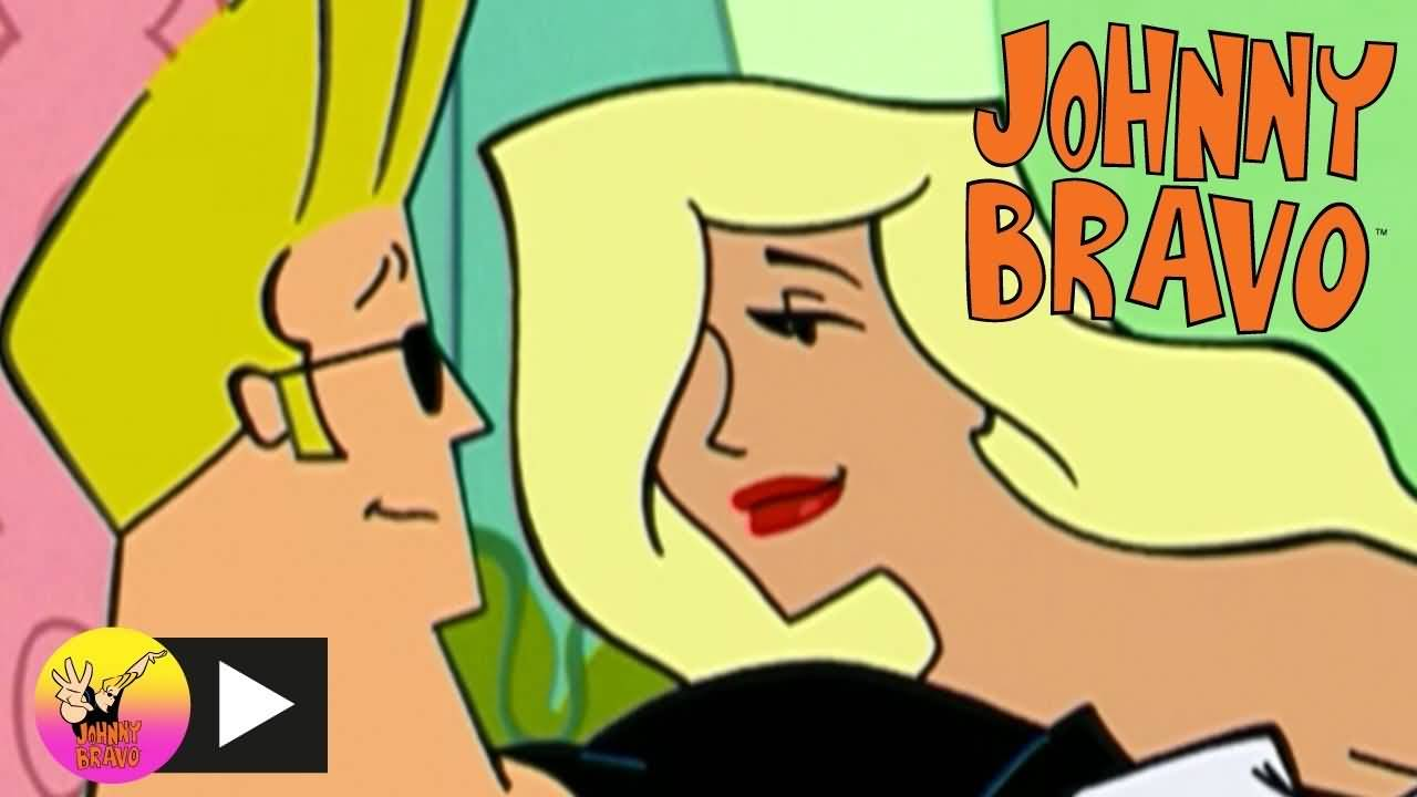 Johnny Bravo With Girlfriend
