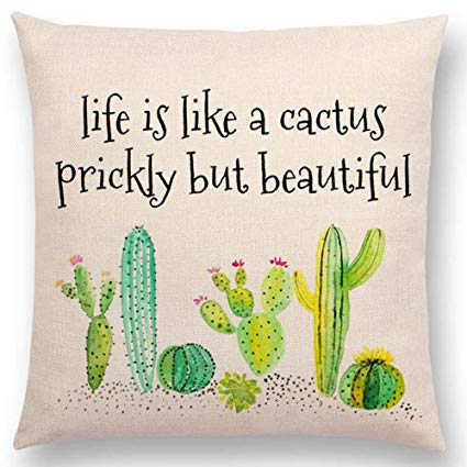 Life Is Like A Cactus Plant Quotes