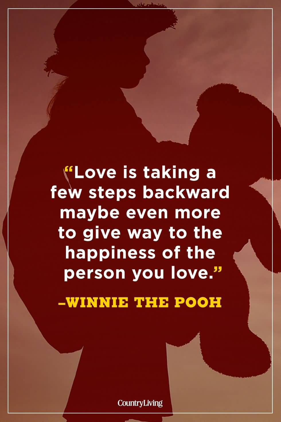 Love Is Taking A Few Winnie The Pooh Quotes