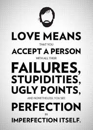 Love Means That You Accept Emotional Quotes