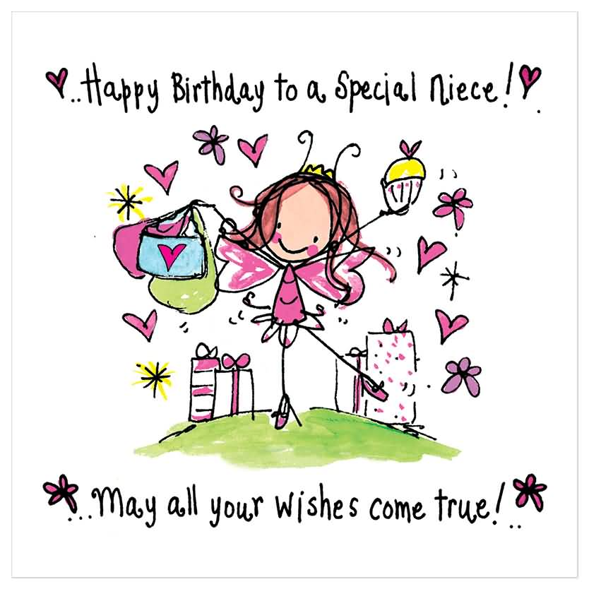 May All Your Wishes Come True Happy Birthday Niece