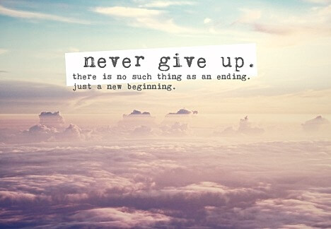 Never Give Up There Encouraging Quotes