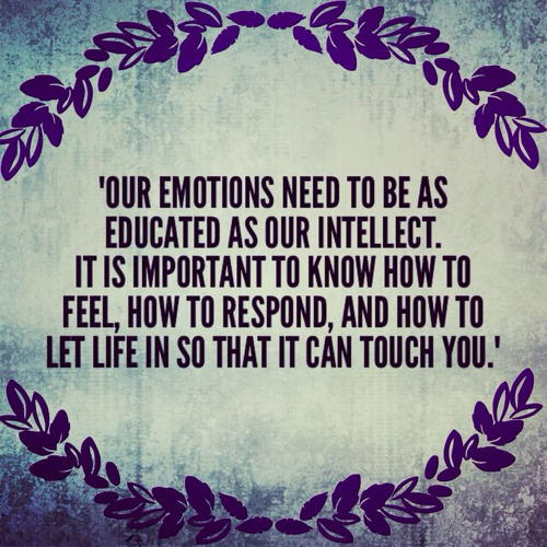 Our Emotions Need To Emotional Quotes