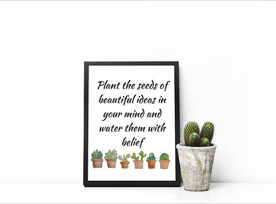 Plant The Seeds Of Beautiful Plant Quotes