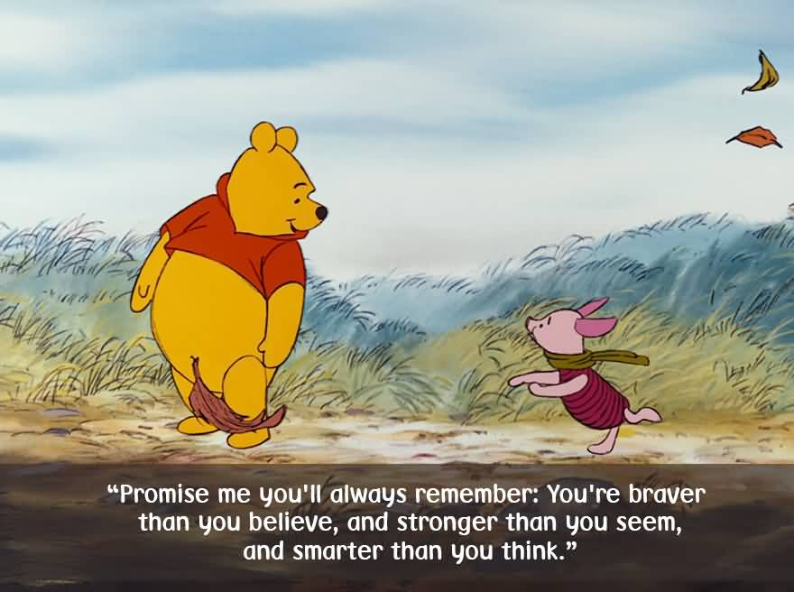 Promise Me You'll Always Winnie The Pooh Quotes